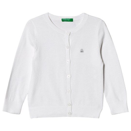 United Colors of Benetton L/S Sweater in White White