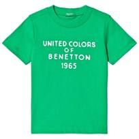 United Colors of Benetton Branded T-shirt Bright Green Bright Green