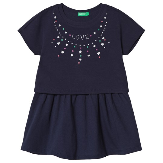 United Colors of Benetton Dress Navy Navy