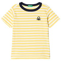United Colors of Benetton T-shirt Yellow Yellow