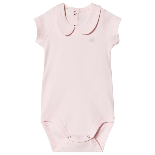 United Colors of Benetton Bodysuit Baby Pink Baby Pink