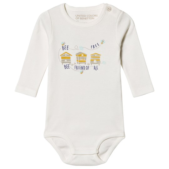 United Colors of Benetton Off White Baby Body Off white
