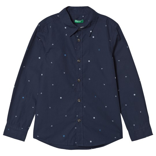 United Colors of Benetton Navy Shirt Navy