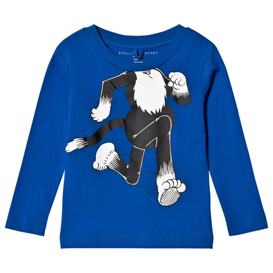 Stella McCartney Kids Dandy Print Barley T-shirt Blå 4861