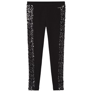 Image of Guess Black Sequin Leggings 8 years (3034317859)