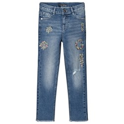 Guess Blue Jewelled Jeans