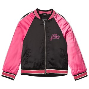 Image of Guess Black and Pink Bomber Jacket 16 years (1101711)