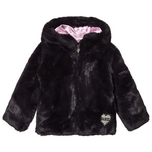 Image of Guess Navy Faux Fur Bomber 3 years (3056067189)