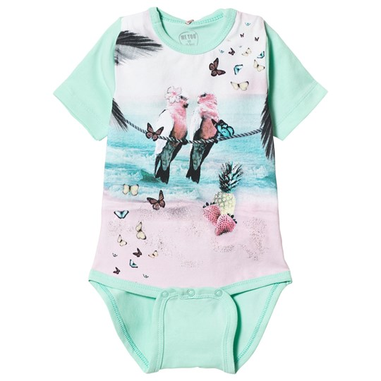 Me Too Levy Baby Body Beach Glass Blue