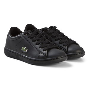Image of Lacoste Black Carnaby Evo Kids Trainers 28 (UK 10) (3035193635)
