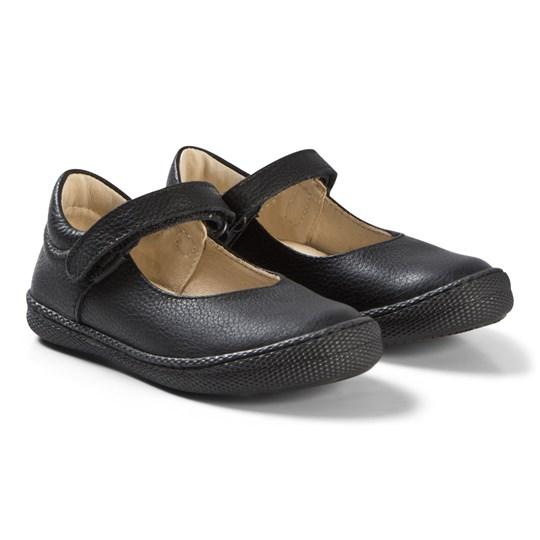popular brand the sale of shoes really comfortable Primigi - Black Leather Velcro Mary Jane School Shoes ...