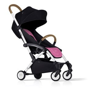 Image of Bumprider Connect Stroller White/Pink (3035570475)
