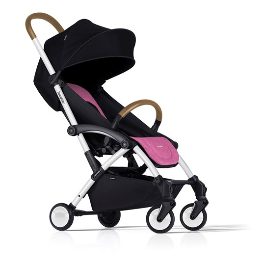 Bumprider Connect Stroller White/Pink White-Pink