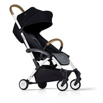 Bumprider Connect Stroller White/Grey Melange White-Grey Melange