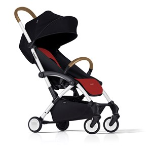 Image of Bumprider Connect Stroller White/Red One Size (1135834)