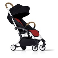 Bumprider Connect Stroller White/Red White-Red
