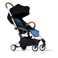 Bumprider Connect Stroller White/Blue White-Blue