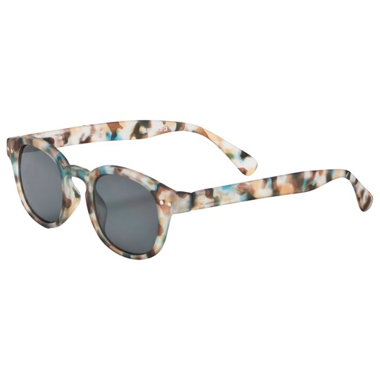 IZIPIZI SUN Junior #C Sunglasses Blue Tortoise Blue Tortoise Soft Grey Lenses