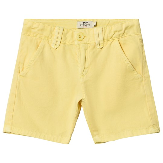 Cyrillus Yellow Chino Shorts 6469