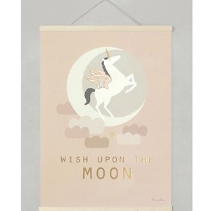 Image of Majvillan Wish Upon the Moon Print 30 x 40 (3035570395)