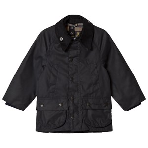 Image of Barbour Navy Classic Bedale Waxed Jacket L (10-11 years) (3035911015)