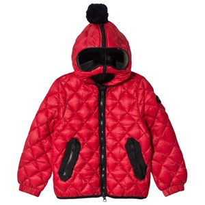 Image of AI Riders on the Storm Red Diamond Quilt Padded Jacket 16 years (3035911197)