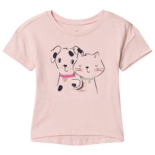 GAP Critters T-shirt Light Pink CRITTERS
