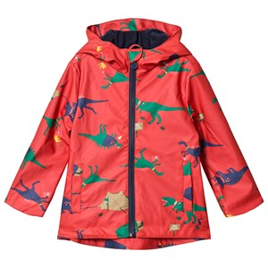 Image of Tom Joule Red Dino Scout Rubber Coat 1 year (3035911097)