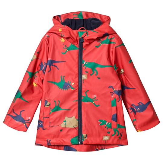 Tom Joule Red Dino Scout Rubber Coat RED DINOSAUR