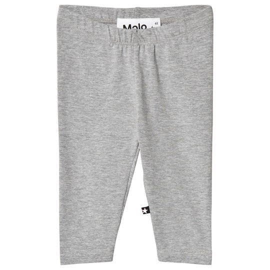 Molo Nette Solid Leggings Light Grey melange Grey Melange