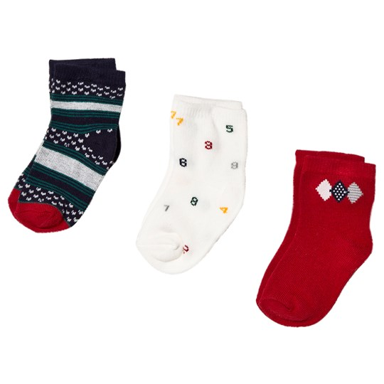 Mayoral Multi Pattern Socks (3 Pack) 43