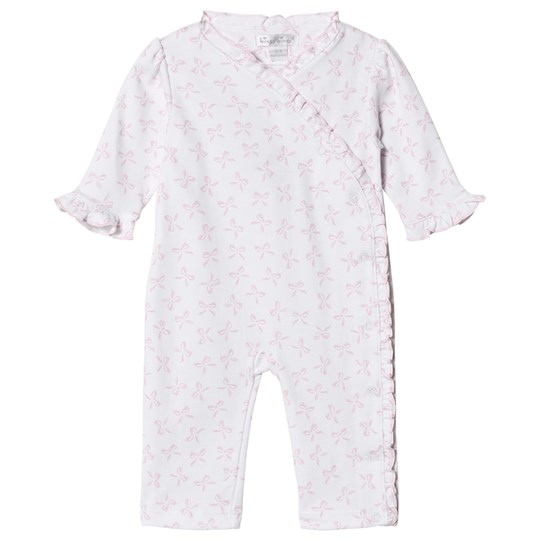 Kissy Kissy Pink Bunches of Bows Print Frill One-Piece PINK BUNCHES OF BOW