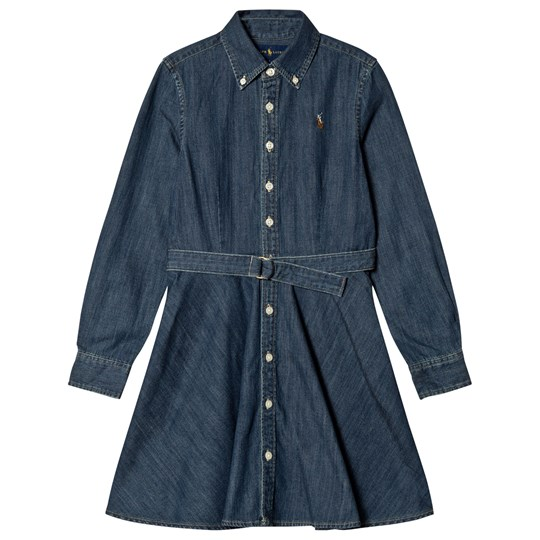 Ralph Lauren Mid Wash Chambray Shirt Dress 001