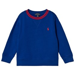 Ralph Lauren Royal Blue Sweatshirt with Tipped Detail and PP