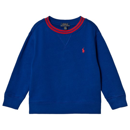 Ralph Lauren Royal Blue Sweatshirt with Tipped Detail and PP 007