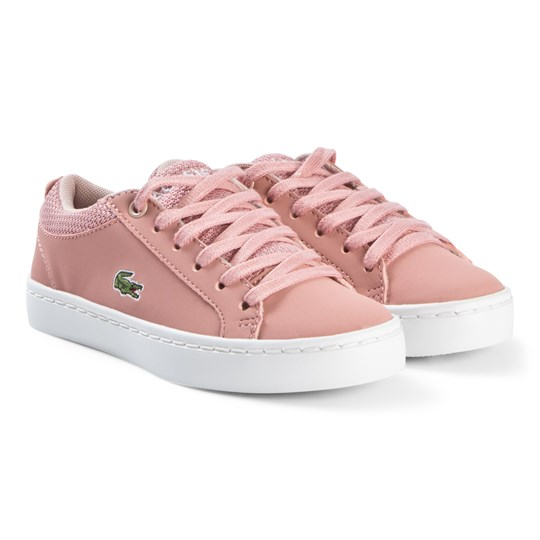 Lacoste Pink Straightset 318 Sneakers PNK/NAT