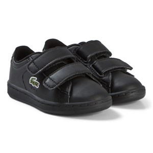 Image of Lacoste Black Carnaby Evo 318 2 Velcro Infant Sneakers 21 (UK 5) (3037562551)