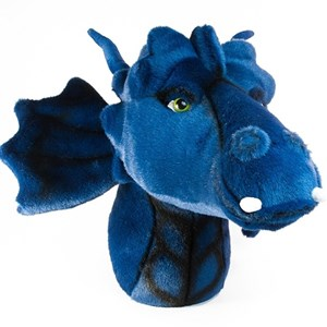 Image of Roomfriends Dragon Head Wall Decoration Blue (3037562849)