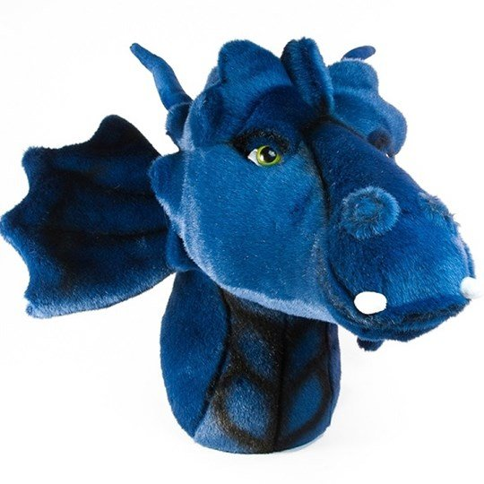Roomfriends Dragon Head Wall Decoration Blue Blue