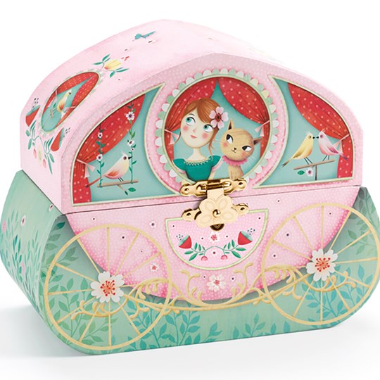 Djeco Carriage Ride Music Box Pink