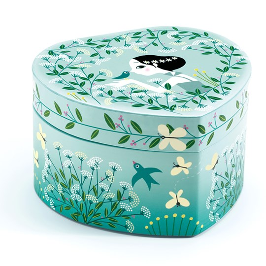 Djeco Budding Dancer Music Box Green