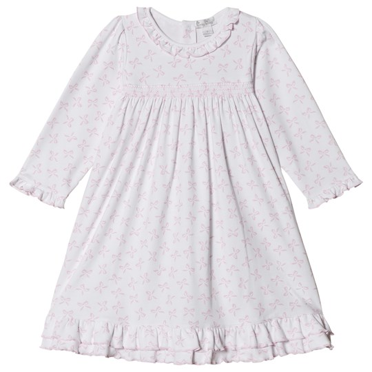 Kissy Kissy White and Pink Bunches of Bows Print Night Dress BUNCHES OF BOWS