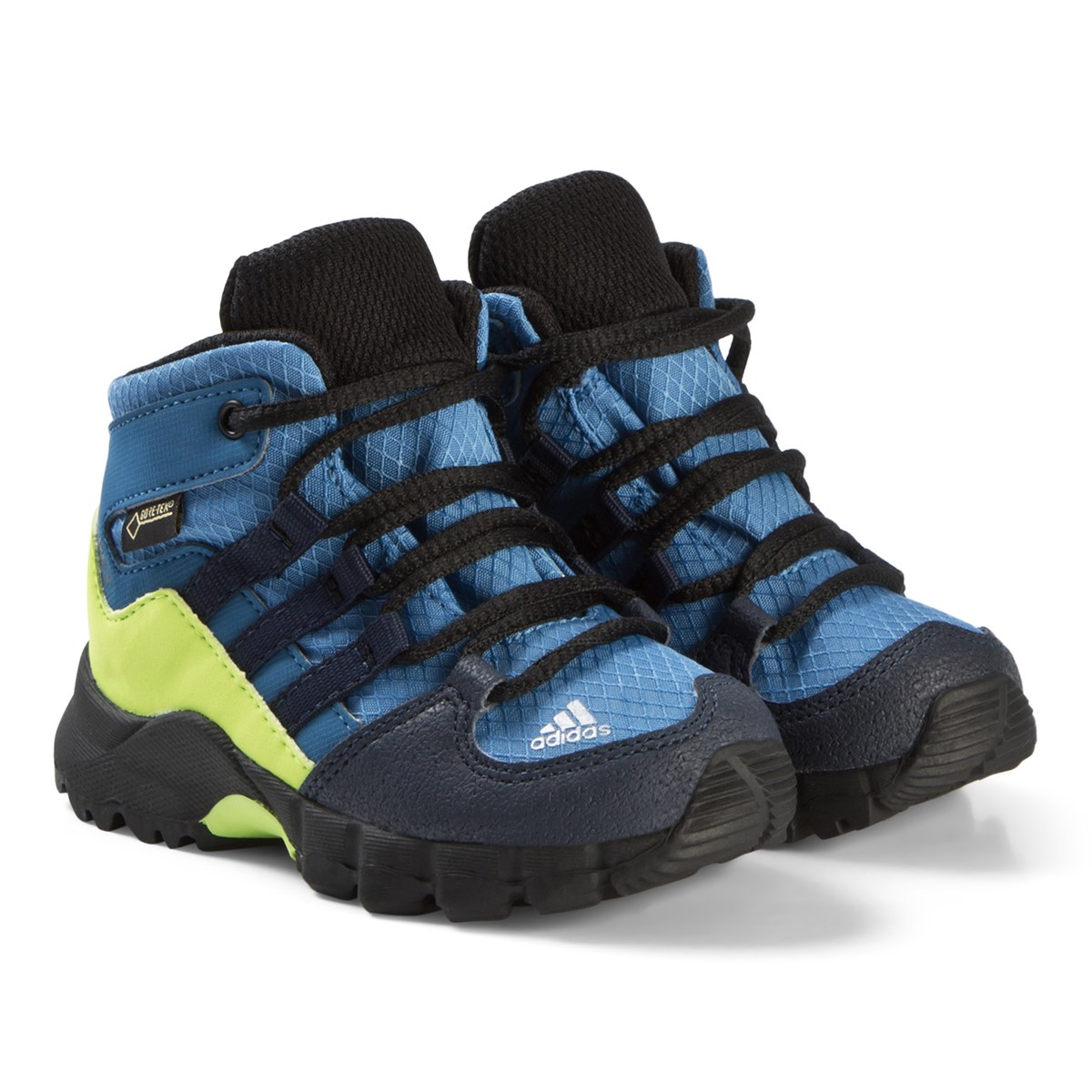 size 40 b7643 2ac5f adidas performance terrex mid gtx shoes blue and green