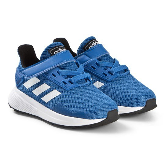 adidas Performance Blue Duramo 9 Velcro Infants Running Trainers blue/ftwr white/core black