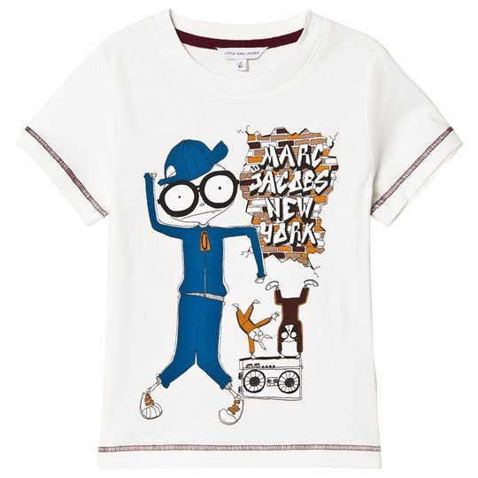 The Marc Jacobs White T-shirt with Mister Marc Illustration 117