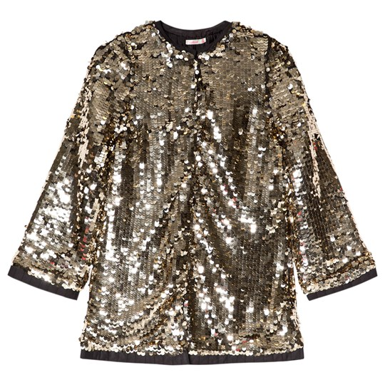 Billieblush Gold Sequin Coat Z40