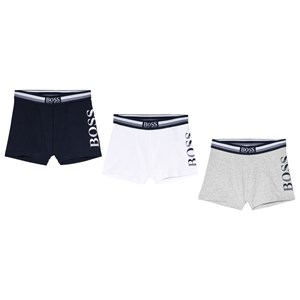 Image of BOSS 3-Pack of Branded Boxers Multicolor 10 years (3038342745)