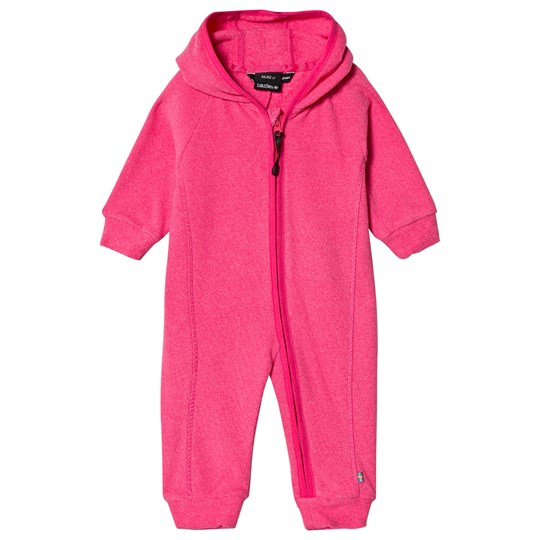 Isbjörn Of Sweden Lynx Baby Overall Frost Pink Pink