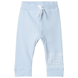 Kenzo Pale Blue Logo Sweat Pants