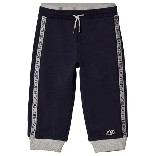 BOSS Navy Logo Sweatpants 849